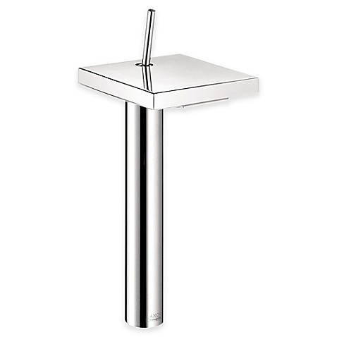 Hansgrohe Axor Starck X Single Hole 4 Inch Bathroom Faucet In Chrome Bed Ba