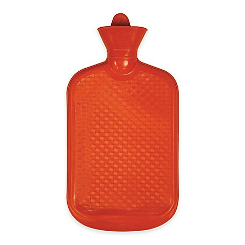 Hot Water Bottle in Red