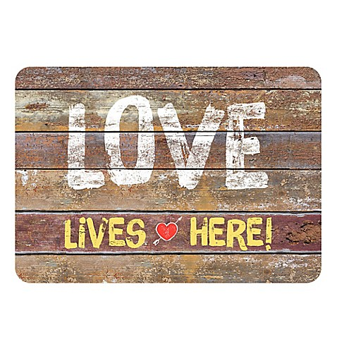 The Softer Side By Weather Guard Rustic Love Sign Kitchen