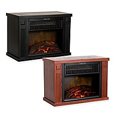 image of northwest mini portable electric fireplace heater - Lasko Heaters