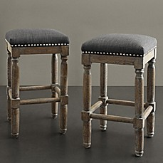 image of Madison Park Cirque Stools (Set of 2)
