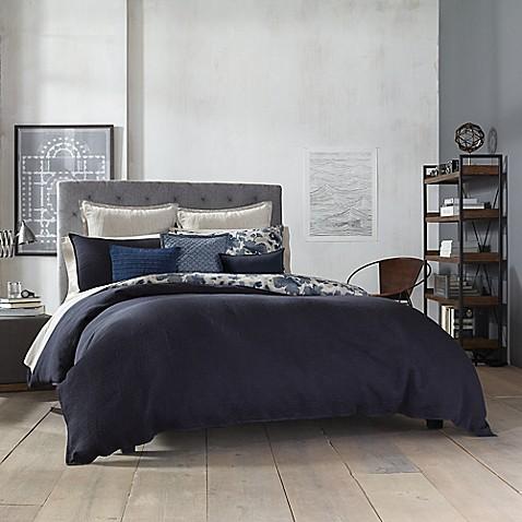 Kenneth Cole New York Fleur Reversible Duvet Cover Bed