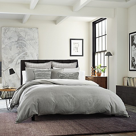 Kenneth Cole New York Dovetail Duvet Cover Bed Bath Amp Beyond