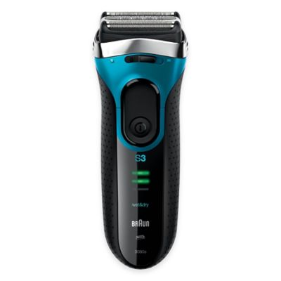 mens electric wet dry shavers at bed bath and beyond