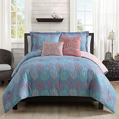 Venice Beach 5 Piece Comforter Set Bed Bath Amp Beyond