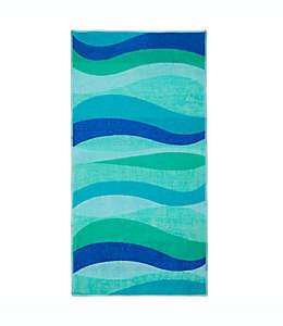 Toalla de playa de algodón Destination Summer Wave