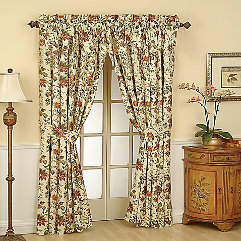 Waverly 174 Felicite 84 Inch Rod Pocket Window Curtain Panel