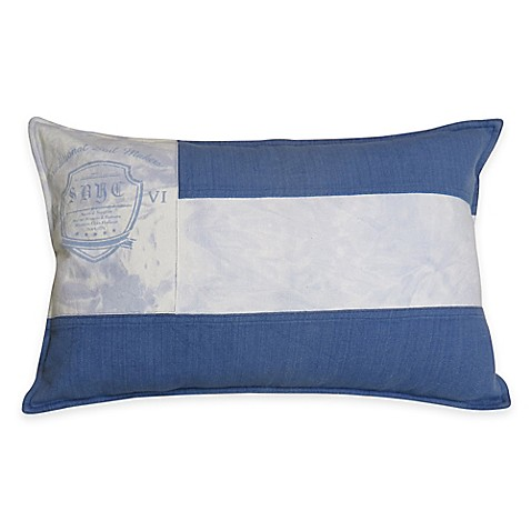Buy Park B. Smith Vintage House Sail Maker Oblong Throw Pillow from Bed Bath & Beyond