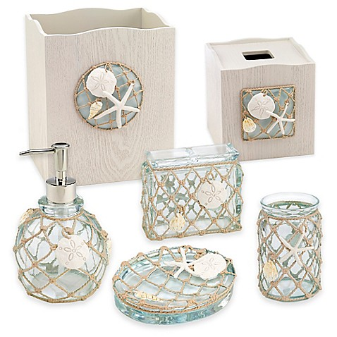 avanti sea glass bath ensemble - bed bath & beyond