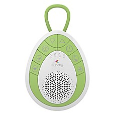 image of HoMedics® MyBaby SoundSpa On-The-Go Sound Machine in Green