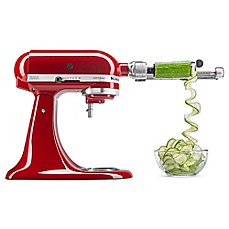 image of KitchenAid® 7-Blade Spiralizer Plus with Peel Core and Slice Attachment