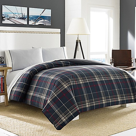 buy nautica booker twin duvet cover set in charcoal from bed bath beyond. Black Bedroom Furniture Sets. Home Design Ideas