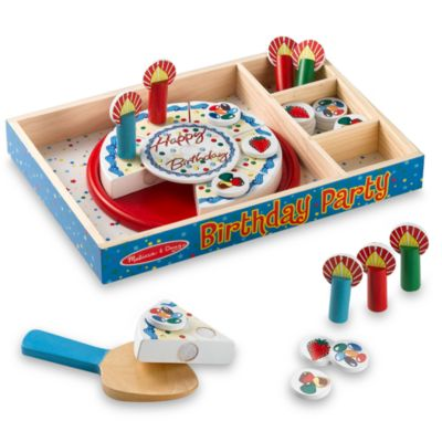 Cake Decorating Kit Bed Bath Beyond : Buy Melissa & Doug  Birthday Party from Bed Bath & Beyond