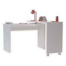 image of Manhattan Comfort Calabria Nested Desk in White