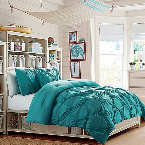 Buy Vcny Monica Full Comforter Set In Turquoise From Bed