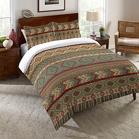Laural Home 174 Country Mood Sage Comforter In Green Bed