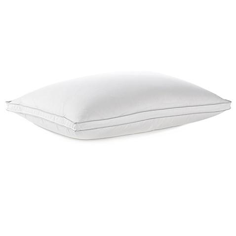 wamsutta dream zone white goose down back sleeper pillow in white bed bath u0026 beyond