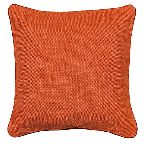 Throw Pillow Rust : Buy Dana 20-Inch x 20-Inch Throw Pillow in Rust from Bed Bath & Beyond