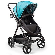 image of Contours® Bliss 4-in-1 Stroller in Laguna Blue