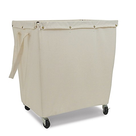 Homz Commercial Style Hamper In Khaki Bed Bath Amp Beyond