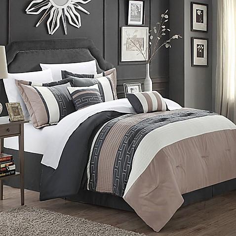 Chic Home Coralie 10 Piece Comforter Set Bed Bath Amp Beyond