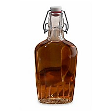 image of Lillian Rose™ Clear Glass Flask