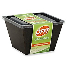 image of Off!® 18 oz. Citronella Bucket Candle