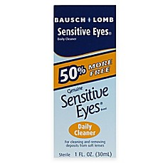 image of Bausch + Lomb Sensitive® 1 oz. Eyes Daily Cleaner
