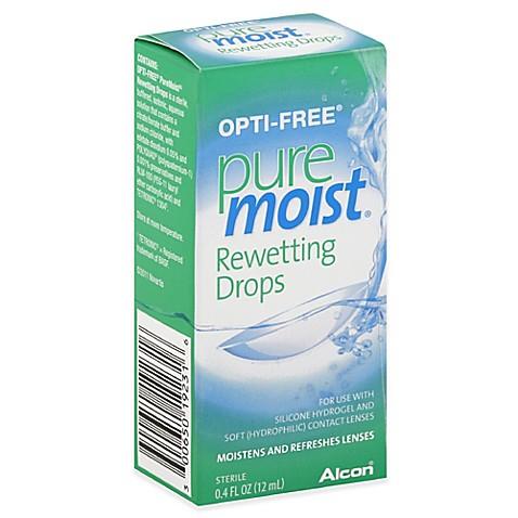 alcon opti free 4 oz pure moist rewetting drops bed. Black Bedroom Furniture Sets. Home Design Ideas