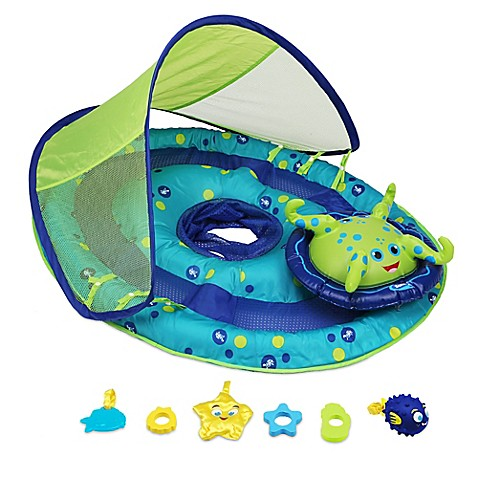Spring Baby Float Activity Center With Sun Shade Buybuy Baby