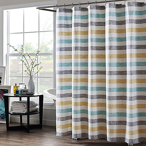 Greta 72 Inch X 84 Inch Extra Long Shower Curtain
