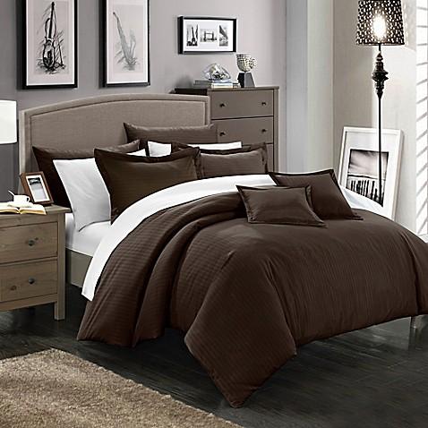 7 piece queen bedroom furniture sets buy chic home kanya 7 piece full queen comforter set in