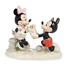 image of Lenox® Disney Mickey and Minnie Proposal Sculpture