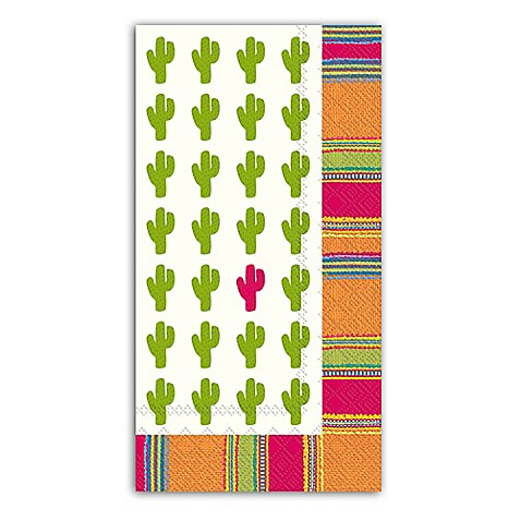 Habanera cactus 3 ply paper guest towels bed bath beyond - Disposable guest towels for bathroom ...