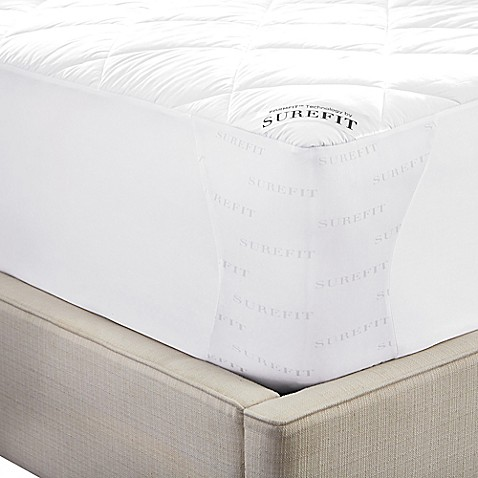 Image Of Sure Fit Deluxe Memory Foam Mattress Pad