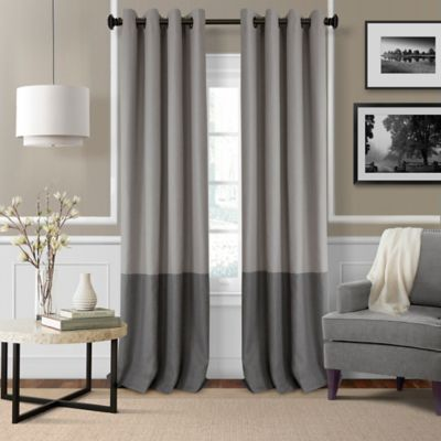image of Elrene Braiden Grommet-Top Room-Darkening Window Curtain Panel