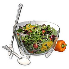 image of Prodyne 3-Piece Salad Bowl and Server Set