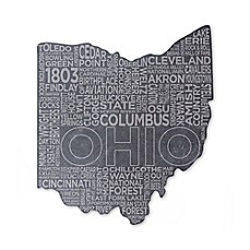 image of Top Shelf Living Ohio Etched Slate Cheese Board