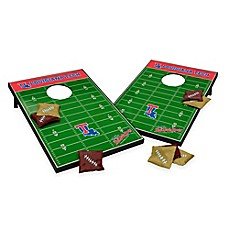image of NCAA Louisiana Tech University Field Tailgate Toss Cornhole Game