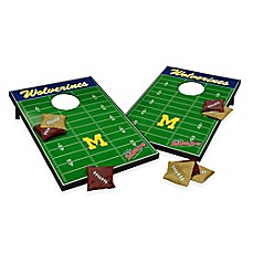 image of NCAA University of Michigan Field Tailgate Toss Cornhole Game