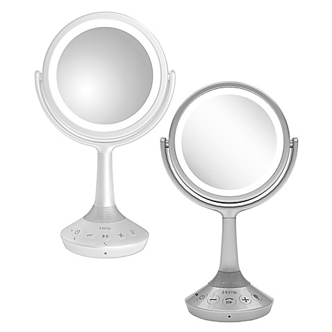 Ihome 174 Bluetooth 174 Double Sided 6 Inch Vanity Mirror
