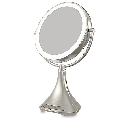 Ihome 174 1x 7x Portable Double Sided 9 Inch Vanity Mirror