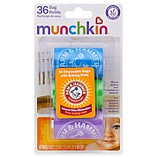 image of Munchkin Arm and Hammer 3-Pack 36-Count Diaper Bag Refills