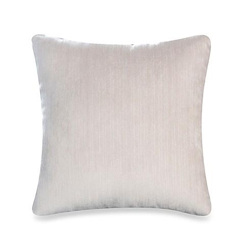 Glenna Jean Lilly Flo Velvet Throw Pillow In White