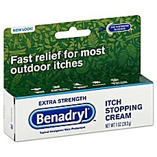 image of Benadryl® 1 oz. Itch Stopping Cream in Extra Strength
