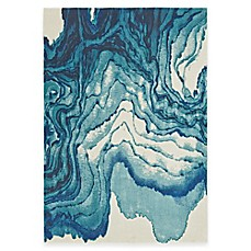 Image Of Feizy Caslon Stone Rug In Blue