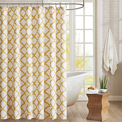 Buy Ink & Ivy Felis 54 Inch x 78 Inch Shower Curtain from