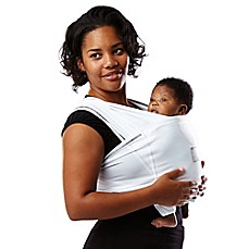 image of Baby K'tan® ACTIVE Baby Carrier in White