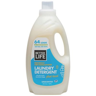 Better Life® Naturally Dirt-Demolishing 64 oz. Unscented Laundry Detergent