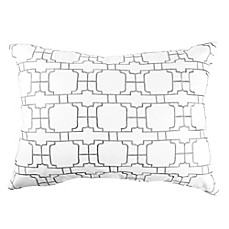 image of Canadian Living Winnipeg Breakfast Throw Pillow in Grey/Charcoal